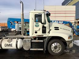 mack trucks dme fuel truck demonstration in new york city
