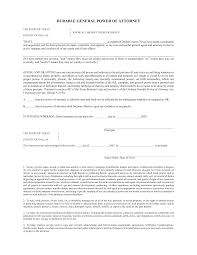 Full Power Of Attorney Sample by Best Photos Of General Power Of Attorney Form Template Free