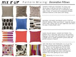 Mixed Patterns by Interiors By The Sewing Room How To Mix Patterns With Decorative