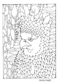 harpy eagle coloring page stunning happy th of july coloring