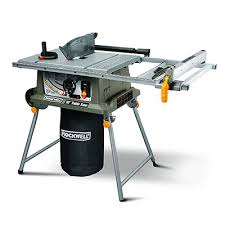 hitachi table saw review rockwell rk7241s table saw with laser reviews by tool nerds