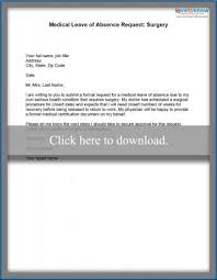 medical leave of absence example letters lovetoknow
