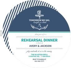 rehearsal lunch invitations custom rehearsal dinner invitations