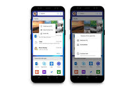 for android microsoft s new android launcher lets you connect your phone and