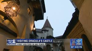 Dracula S Castle Contest Winners Spend Halloween Night Inside Dracula U0027s Castle