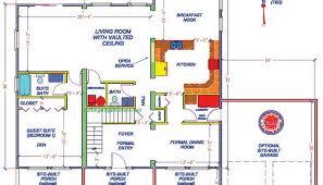lake house floor plans with walkout basement lake house open