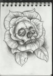 the 25 best skull rose tattoos ideas on pinterest lower stomach