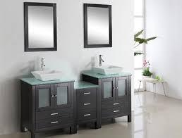 Modular Bathroom Vanity Brentford 72 Inch Sink Modular Bathroom Vanity Tempered