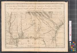 louisiana florida map a new map of with part of carolina florida and louisiana