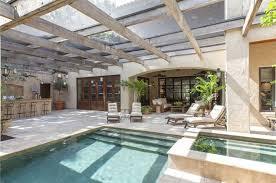 outdoor kitchens tampa fl mediterranean patio with glass panel door u0026 skylight in tampa fl