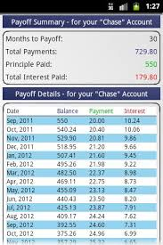 Formula Credit Card Minimum Payment Credit Card Payoff Calculator Android Apps On Play