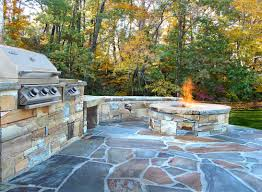 Firepit And Grill by Atlanta Stone Fireplaces Outdoor Fire Pits U0026 Grills