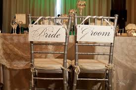 wedding chair signs wedding signs and groom chair signs and or thank you