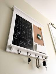 Mail And Key Holder Wall Decor Perpetual Black Dry Erase Calendar Family Planner