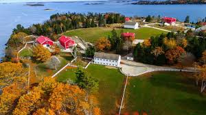 mansion global dreamy private island off the coast of maine can be yours for 8m