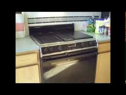 Jenn Air Gas Cooktop Troubleshooting Jenn Air S156 Stove Mid 90 U0027s Or Lated 90 U0027s Model Youtube