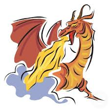 fire breathing dragon picture free download clip art free clip