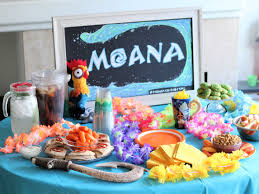 moana party ideas for having a viewing party the healthy mouse
