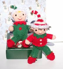 elves decorations knitted elves aftcra