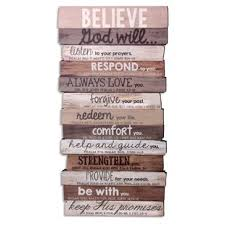 wooden words for wall wayfair