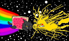 Nyan Cat Meme - nyan cat vs pikachu
