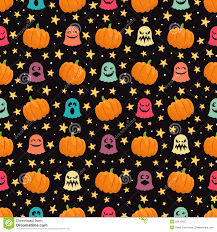 pumpkins and ghosts royalty free stock photography image 33415427