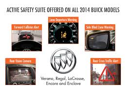2014 buick lineup offers active safety suite
