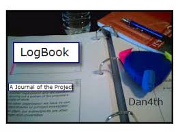 cover page of science project how to prepare a science fair journal or log book