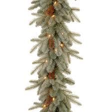 white garland incandescent christmas garland christmas wreaths garland the