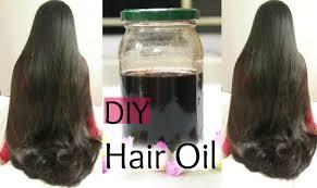 Natural Hair Growth Remedies For Black Hair Diy Hair Growth Oil For Long Shiny Hair Reduce Hair Fall And