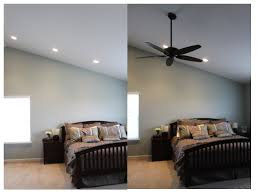 Ceiling Fans Indianapolis Before After Ceiling Fan Installation Miller Company Inc