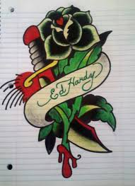 ed hardy drawing by los19 on deviantart