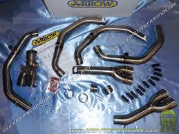 exhaust manifold arrow racing replica twin motorcycle honda cb 600