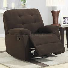 furniture inspiring country style leather rocker reclining swivel