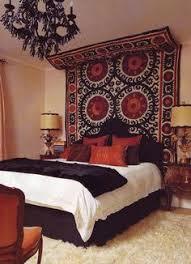 Moroccan Mystique Feature Wall Contemporary Bedroom by 40 Moroccan Themed Bedroom Decorating Ideas Moroccan Bedroom