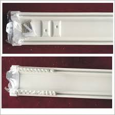 Ceiling Curtain Track by Ceiling Curtain Double Track Plastic Double Track Suspended