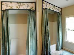 interior designemarkable curtain ideas for cabin bathroom window