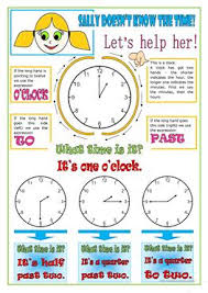 39 free esl telling the time worksheets