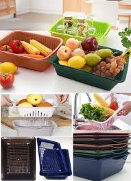 basket of fruits basket of fruits and vegetables layer plastic drip basket