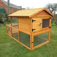 Fox Proof Rabbit Hutches The Villa 7ft Extra Large Rabbit Hutch All Hutches Outdoor