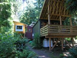 Small House Living by A Small House Compound On Whidbey Island Small House Bliss