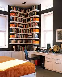 Bookshelves Decorating Ideas Apartments Outstanding Bedroom Bookshelves Small Bookshelf