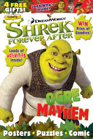 totally shrek magazine launches titan