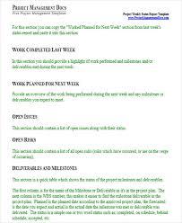 22 weekly report templates in word free u0026 premium templates
