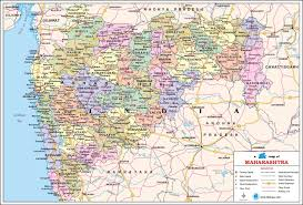 Pune India Map by Maharashtra Travel Map Maharashtra State Map With Districts