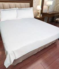 Buy Double Bed Sheets Online India Scala Plain White Double Bed Sheets Buy Scala Plain White Double