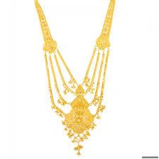 gold rani haar sets 22ct indian gold necklace rani haar 2594 95 necklace sets