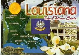 New Orleans Usa Map by Usa U2013 Louisiana Remembering Letters And Postcards
