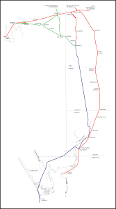 Southern Florida Map by Tampa Bay Trains The Florida Southern Railway Route