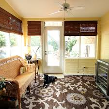 Ikea Ceiling Fans by Decorating Exciting Family Room Design With Matchstick Blinds